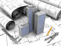 City plan Royalty Free Stock Images