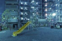 City playground royalty free stock photos