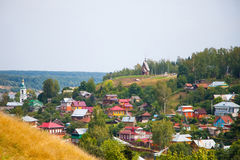 City Plyos, Ivanovo region Stock Images