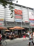 City Point market in Nuremberg, Germany Royalty Free Stock Photos