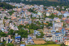 City of Pokhara Nepal. Royalty Free Stock Images