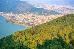 City of Pokhara,Nepal Stock Photography
