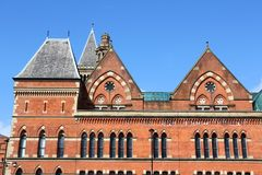 City Police Courts. Building in Manchester - city in North West England (UK). Grade II listed building Royalty Free Stock Photos