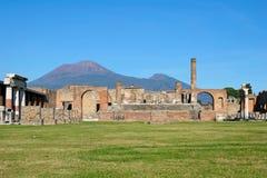 City of Pompeii royalty free stock photo