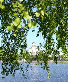 City pond Stock Photo