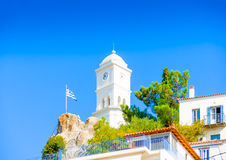 City of Poros island Royalty Free Stock Image