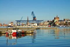City port Royalty Free Stock Photography