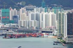 City port Stock Image