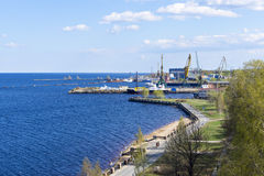 City port and docks Royalty Free Stock Photos