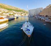 City port in Dubrovnik. Croatia. Royalty Free Stock Image