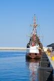 City port of Gdynia Stock Image