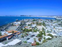 City Port of Rock y Point. Rocky Point is a little city Port located in the northern mexican state of Sonora. Its magic is the result of the combination of royalty free stock image