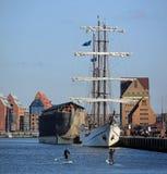 City port of Rostock (Germany) Royalty Free Stock Photography