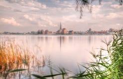 City port of Rostock (Mecklenburg-Vorpommern, Germany) Stock Photo
