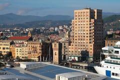 City and port. Savona, Italy Stock Photo
