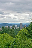 City of Portland Oregon Royalty Free Stock Images