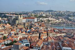 City of Porto from above Royalty Free Stock Image