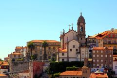 City of Porto in Portugal Stock Images