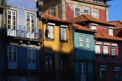 City of Porto. Portugal. Cityscape of Porto, colourful buildings, homes stock photo