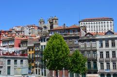 City of Porto. Portugal. Cityscape of Porto, hill scene royalty free stock image