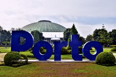 The city of Porto receives us with all its splendor. royalty free stock images