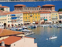 City of Portoferraio, Isle of Elba, Italy Stock Image