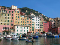 The city of Portofino , Italy Stock Image