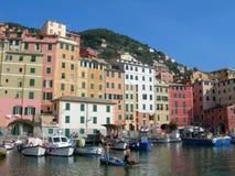 The city of Portofino , Italy Stock Image