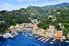City of Portofino, Liguria, Italy Stock Images