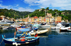 City of Portofino, Liguria, Italy Royalty Free Stock Photo