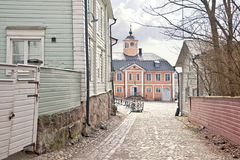 City of Porvoo. Town hall Stock Image