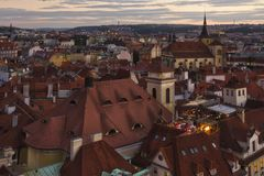 City Pragua in Czech. Very beautiful city in the czech republic Stock Photos