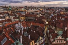 City Pragua in Czech. Very beautiful city in the czech republic royalty free stock images