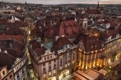 City Pragua in Czech. Very beautiful city in the czech republic Stock Photography