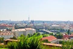 City of Prague Royalty Free Stock Photo