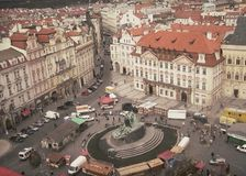 The city of Praha. A beautiful view of the city of Prague, Czech Republic Stock Photography