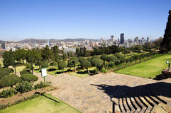 City of Pretoria Skyline, South Africa. Pretoria is a city located in the northern part of Gauteng Province, South Africa. It is one of the country's three Royalty Free Stock Photography