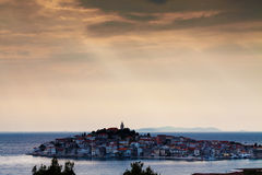 City of Primosten, Croatia Royalty Free Stock Photography