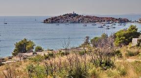 City of Primosten, Croatia Stock Image