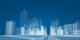 City project Stock Images