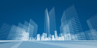 City project Stock Photography