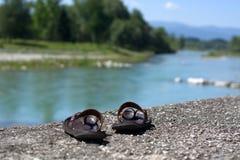 Piave River crossing Belluno Stock Image