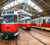 The City Public Transport Museum, Prague. Czech Republic Royalty Free Stock Image
