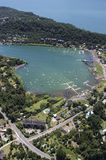 City of Pucon, the Villarrica lakeside Royalty Free Stock Photos