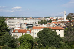City of Pula skyline in summer Stock Photo