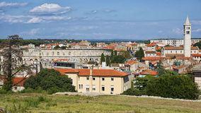 City of Pula skyline in summer Stock Image
