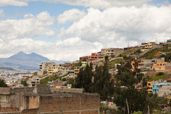 City of Quito, Ecuador Royalty Free Stock Image