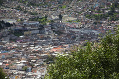 City of Quito, Ecuador, South America Royalty Free Stock Image