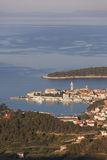 City of Rab from distance Stock Images