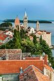 City of Rab, on an island Rab in Croatia Stock Photo